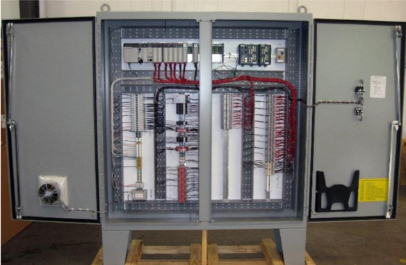 automated system control panel